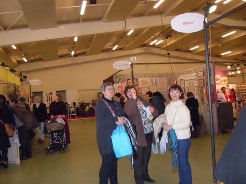 Sortie au salon des loisirs cr atifs association point for Salon loisirs creatifs orleans