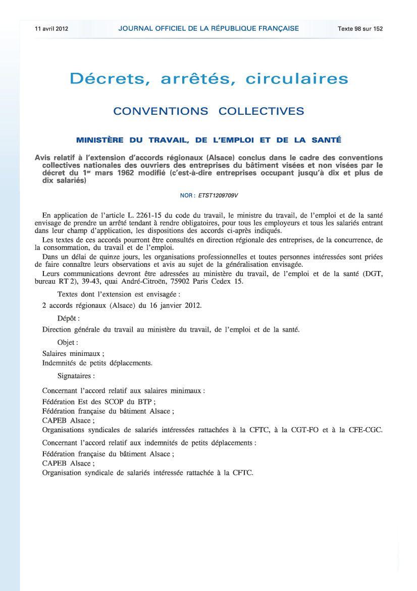 Salaires Ouvriers Alsace Cnc B 194 Timent Cfdt