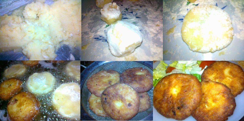 croquettes de pommes de terre(maakouda)