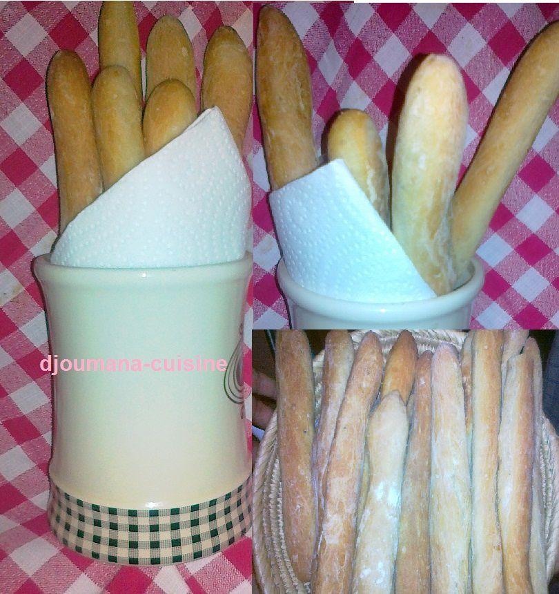 Petites Baguettes au grain de nigelle et au sésame