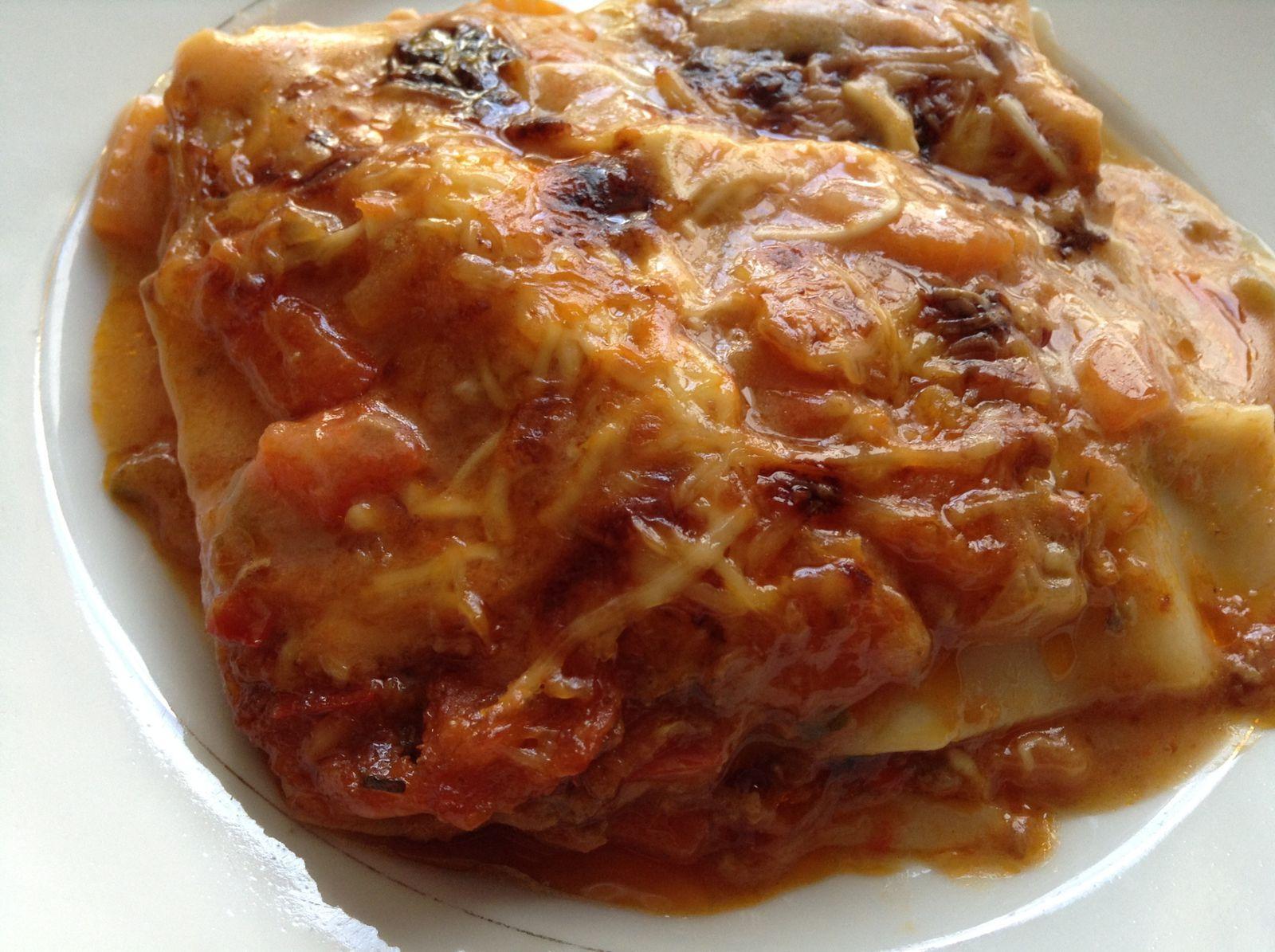 Lasagne maison à la bolognaise
