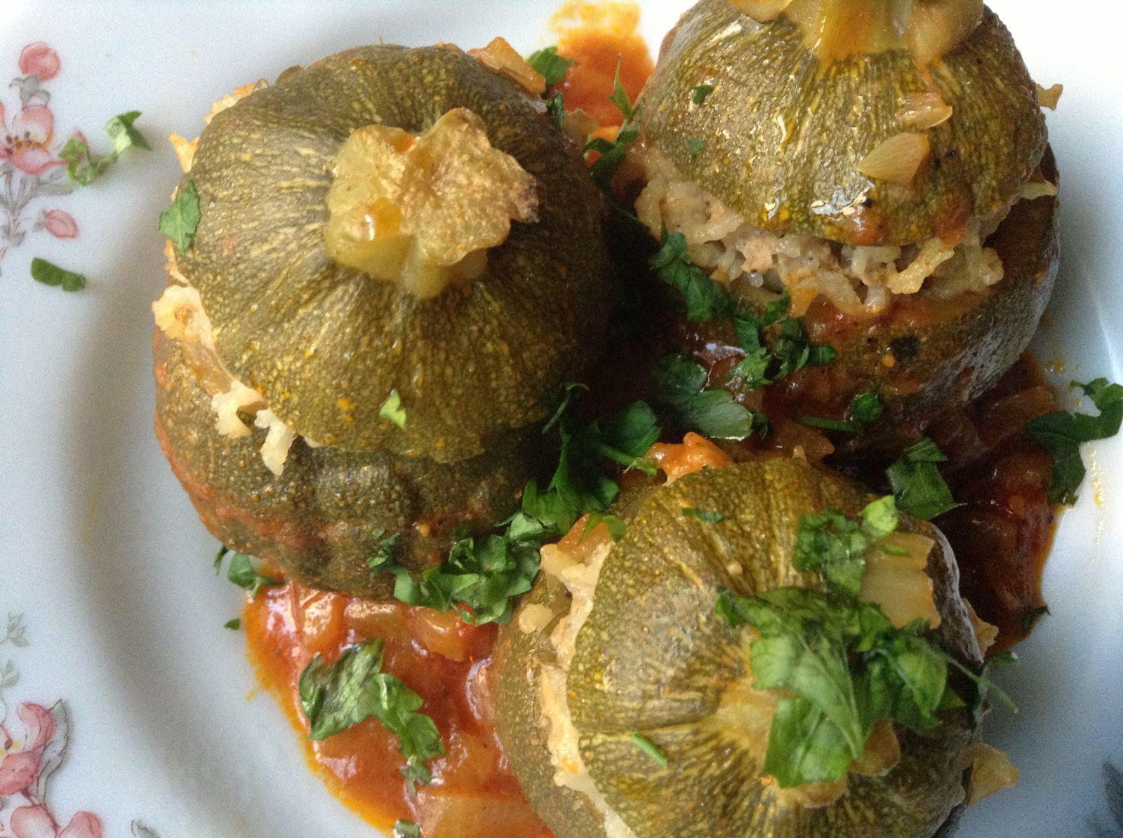 Courgettes farcie pour ramadan - Blog de cuisine orientale pour le ramadan ...