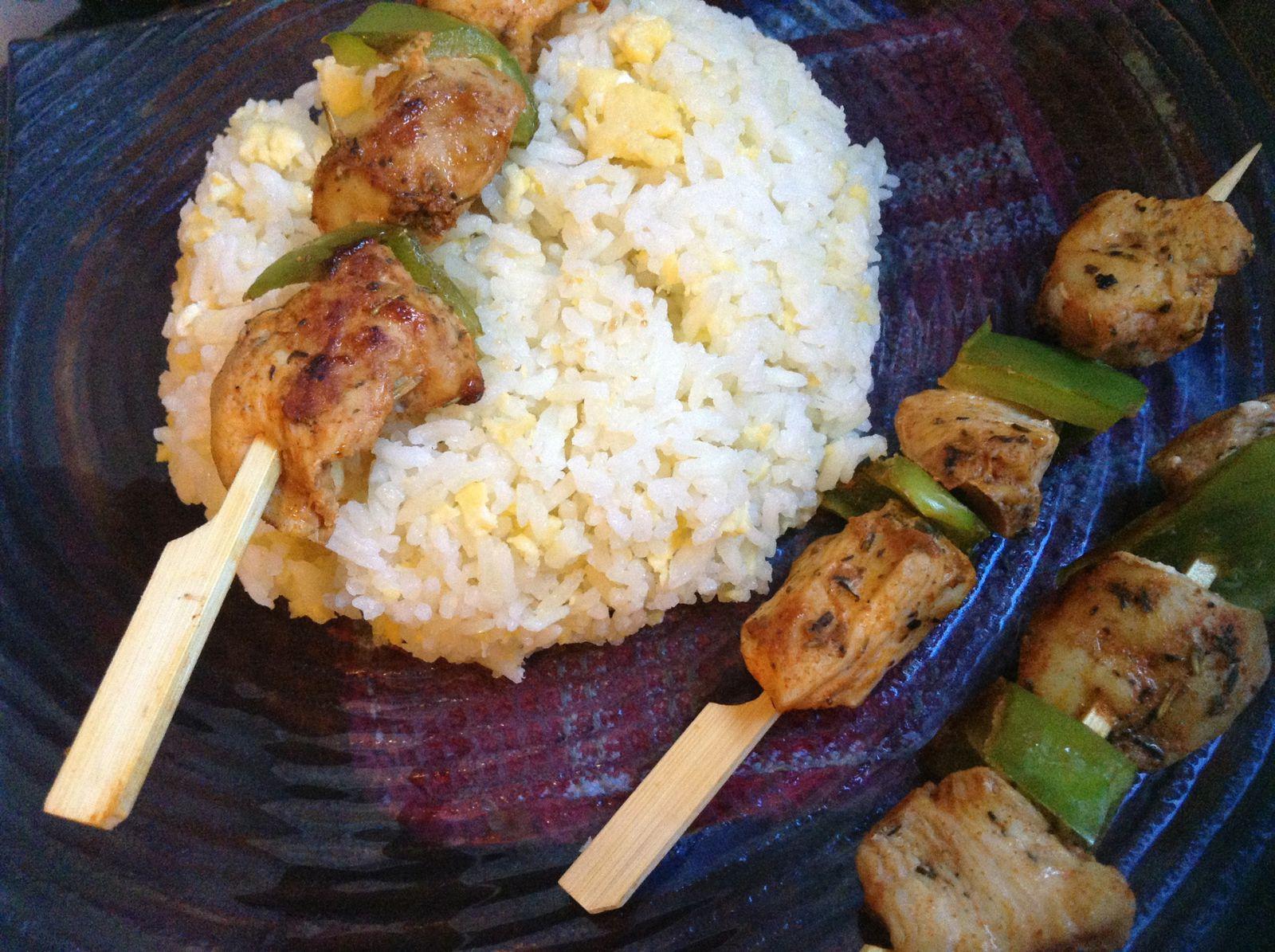 Brochettes d 39 escalopes pour ramadan - Cuisine maghrebine pour ramadan ...