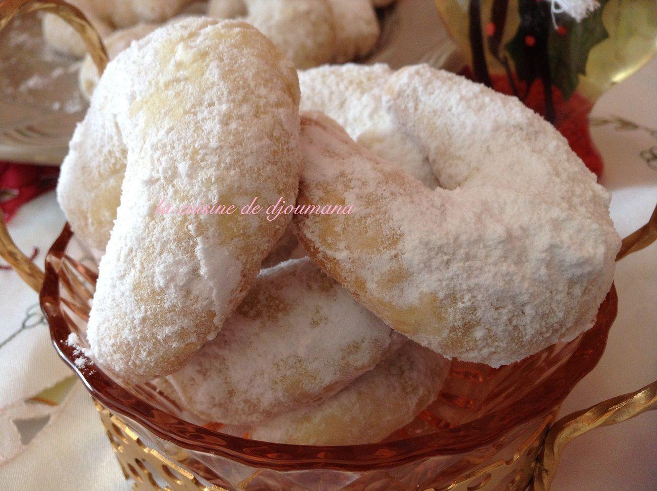 Croissant à la noix de coco
