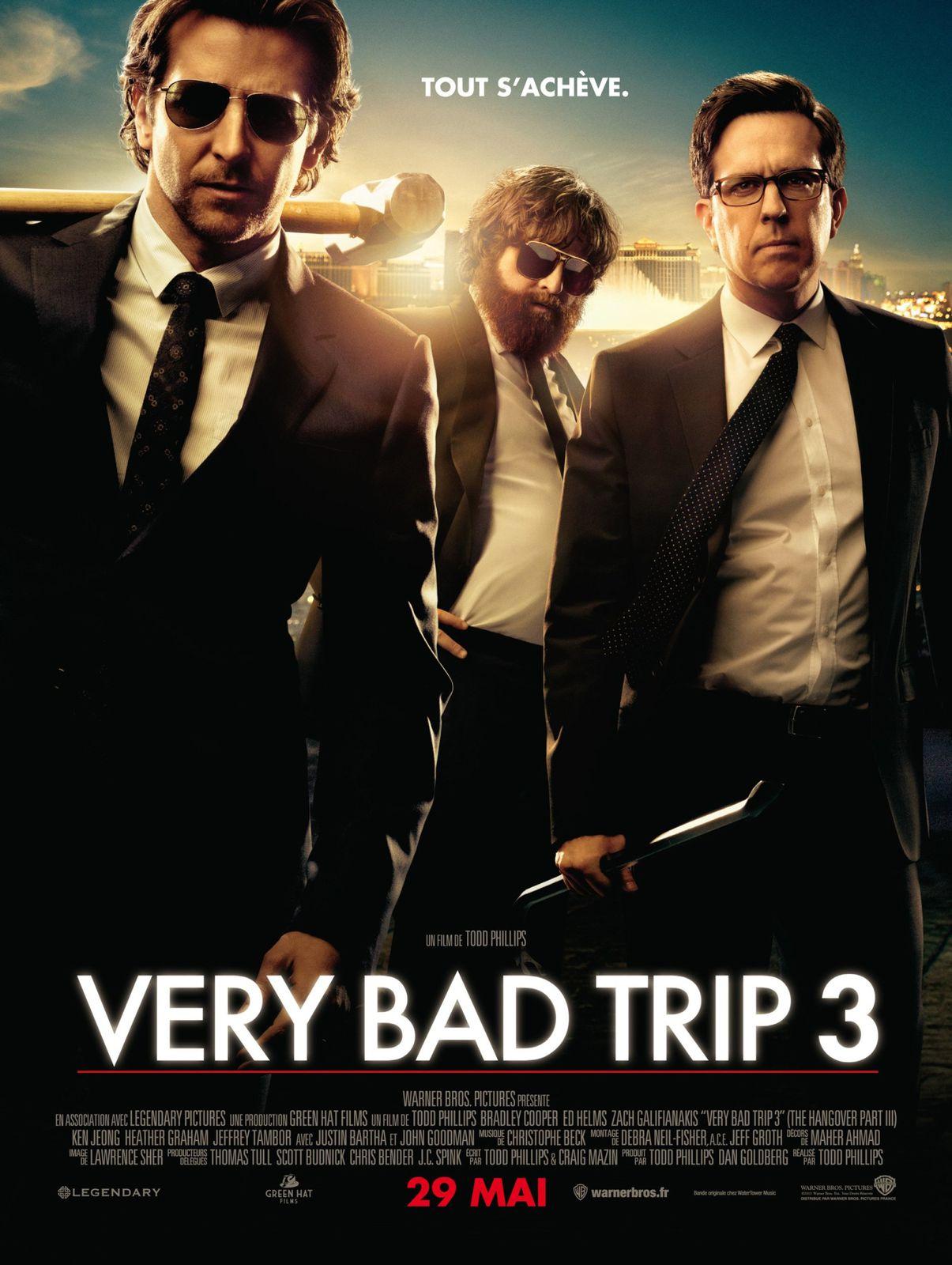 Critique du film Very Bad Trip 3