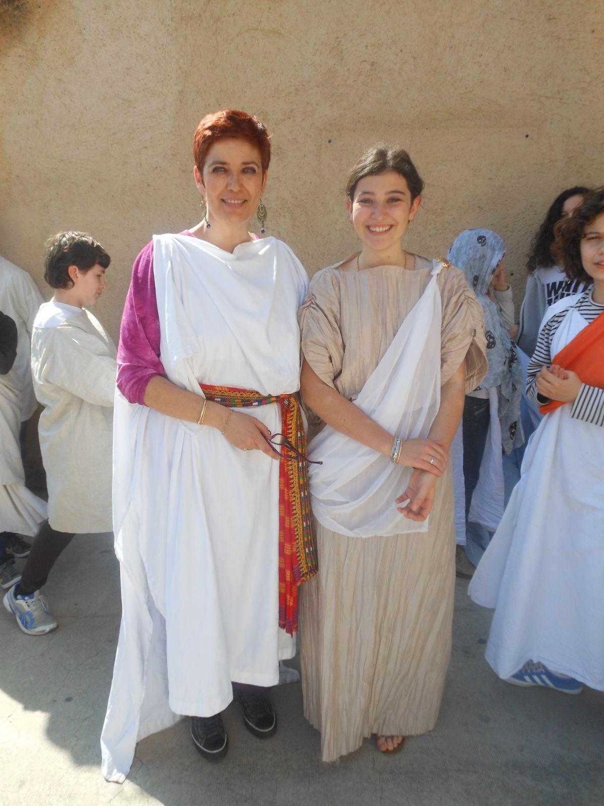 La journée romaine au collège