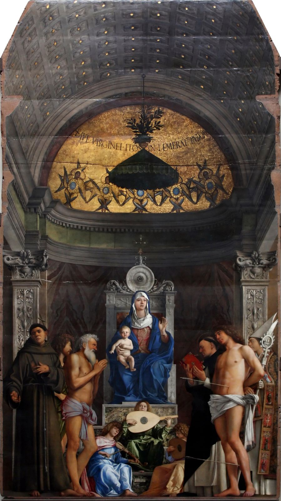 Giovanni Bellini, Retable de San Giobbe