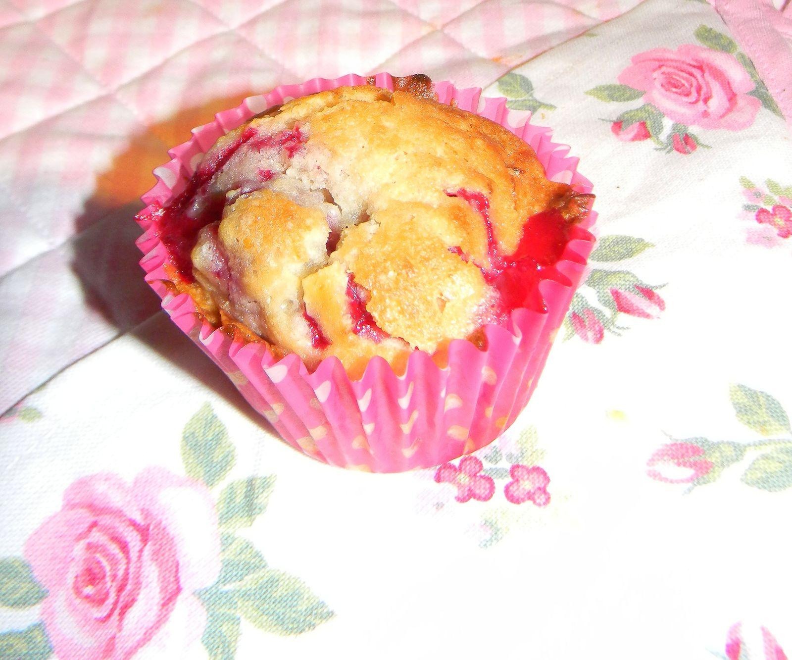 Muffin cerise/amande