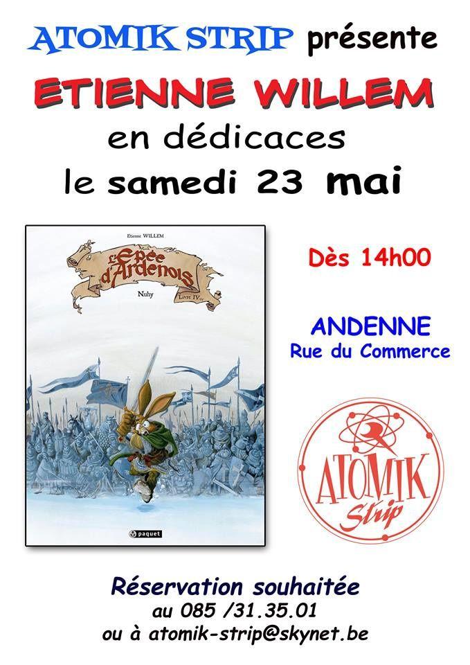 The end of : L'épée d'Ardenois