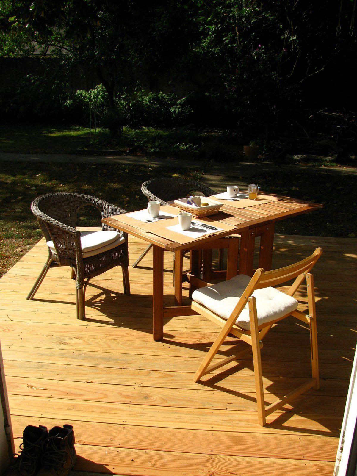 fabriquer une terrasse tr s simple bon sang de bois. Black Bedroom Furniture Sets. Home Design Ideas
