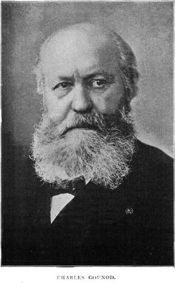 Charles-François Gounod, compositeur français, 1818 - 1893