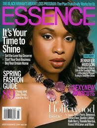 Couverture d'Essence magazine avec Jennifer Hudson