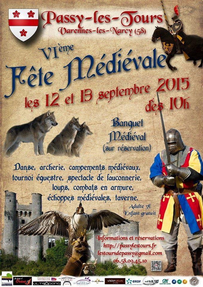 Bal médiéval et VI ème fête médiévale  de Passy -Les-Tours ...