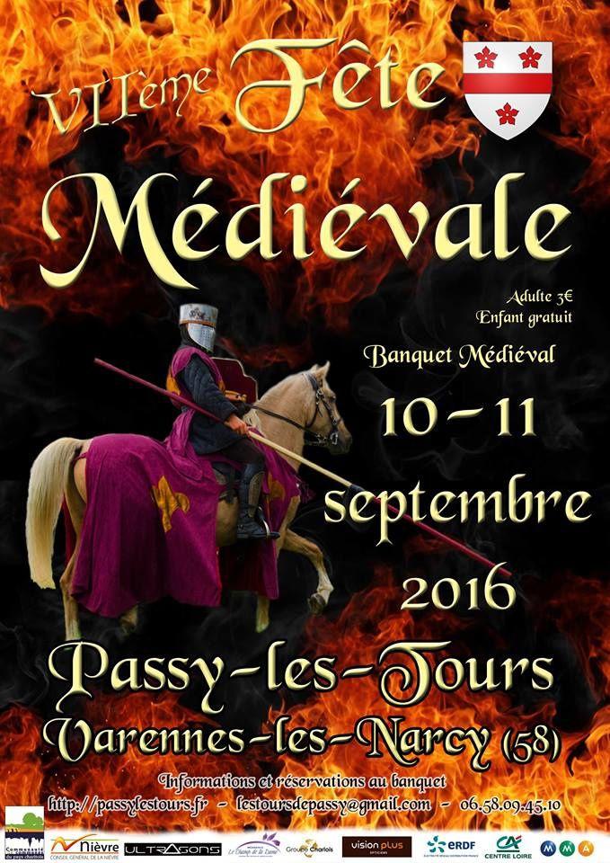 VII Fête médiévale A Passy-les-tours les 10 et 11 septembre 2016