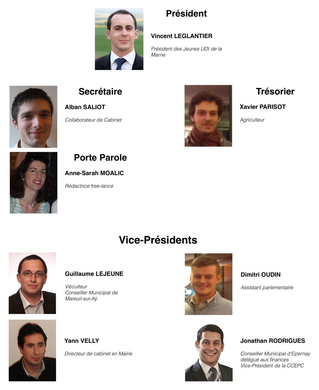La fédération des Jeunes UDI de la Marne