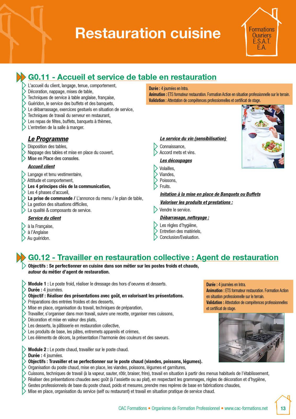 Pratiquer l'HACCP en Restauration Collective