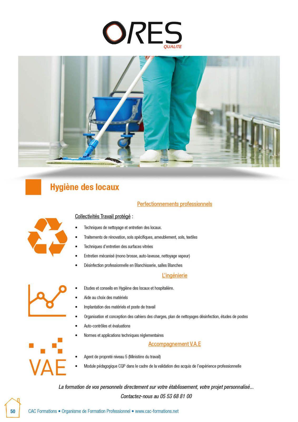Nettoyage Professionnel et techniques de travail
