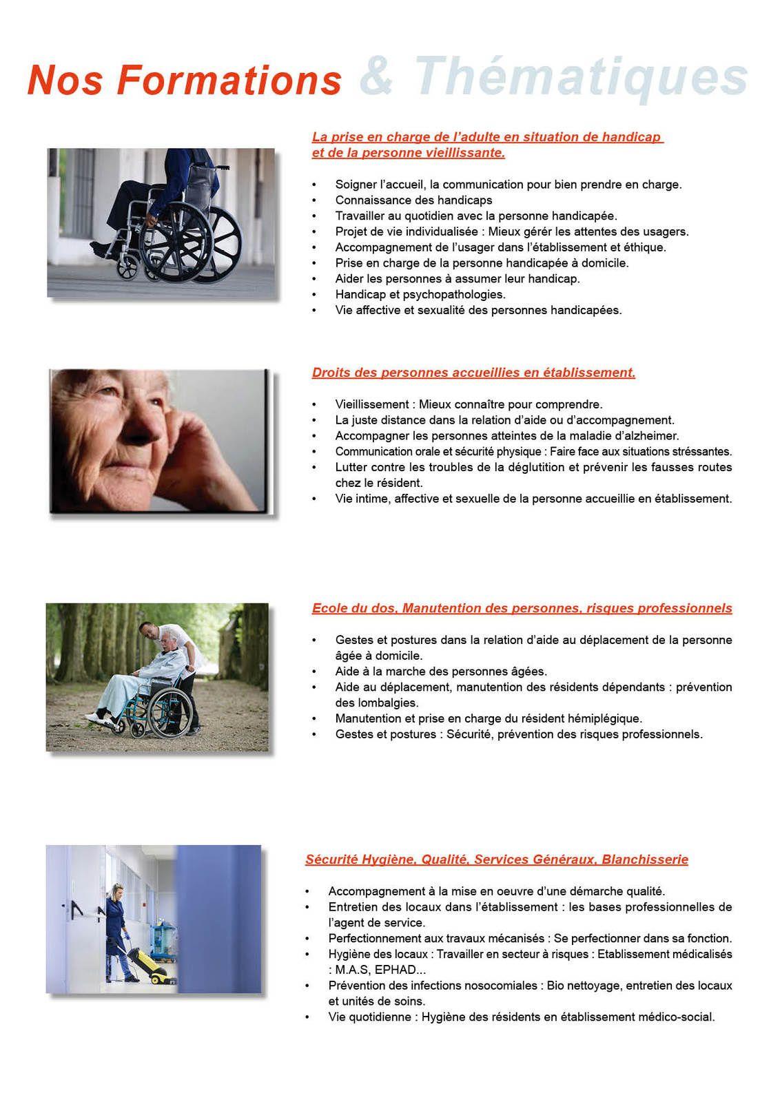 ORES FORMATIONS  Sanitaire et Social