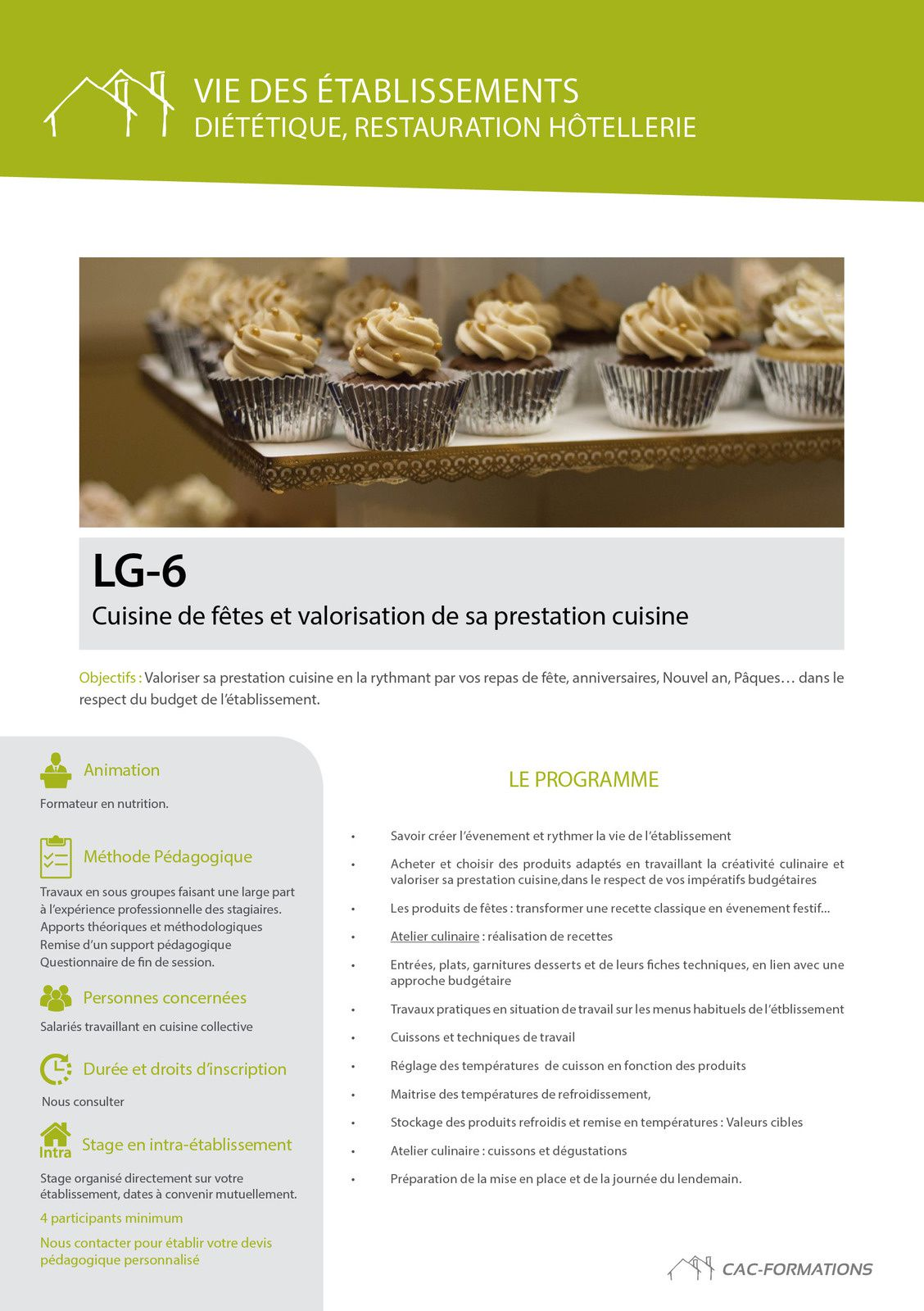 Handicap le blog du cac formations - Blog cuisine dietetique ...