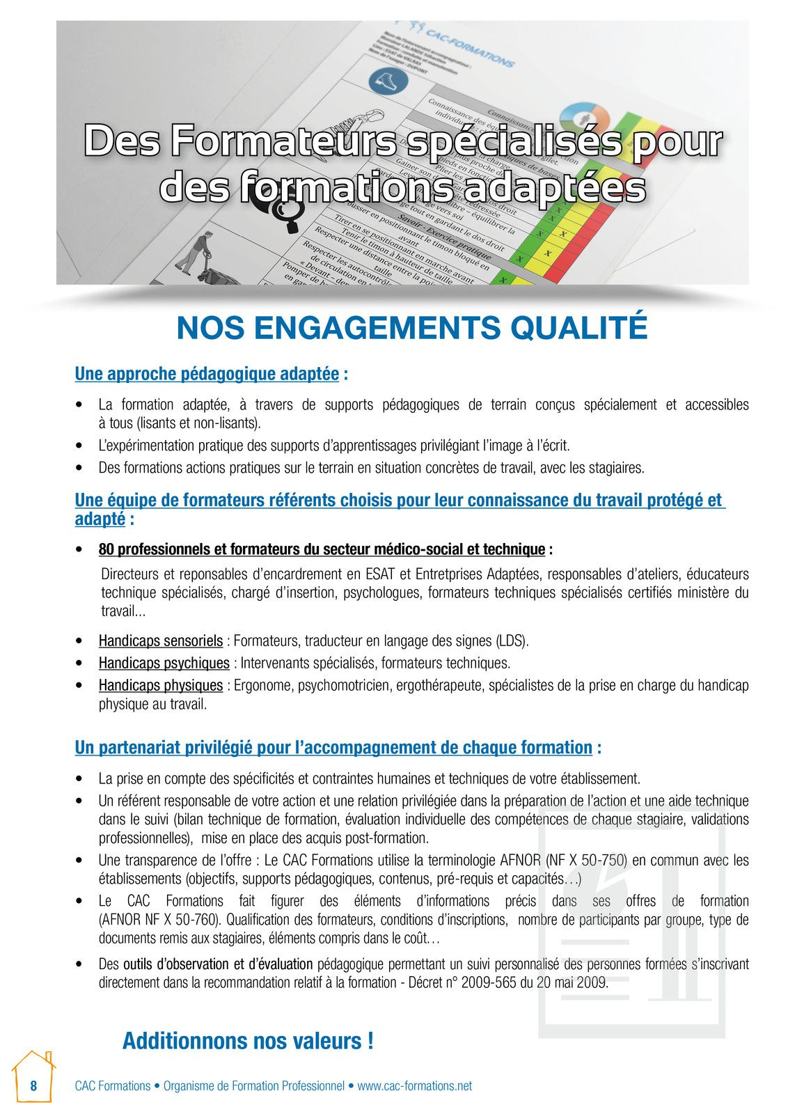 Certifications vae le blog du cac formations for Diplome restauration collective
