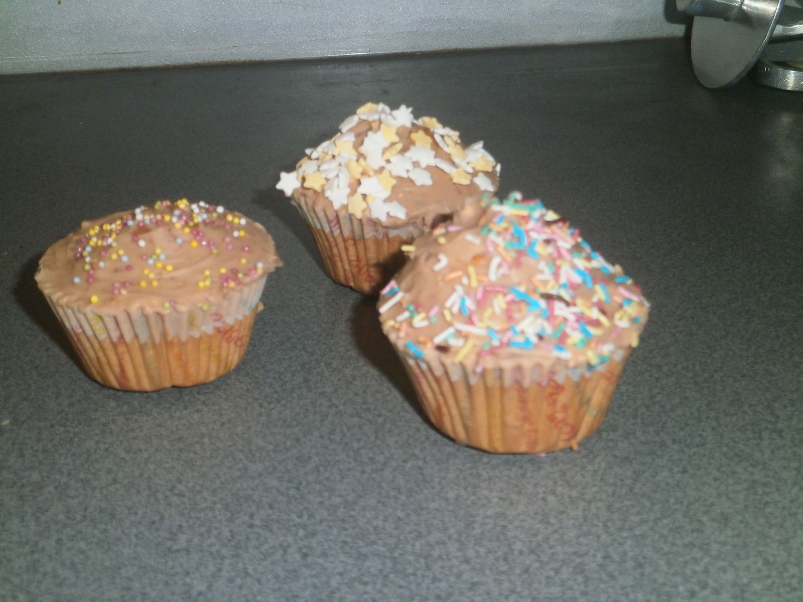 Cupcake aux chocobons