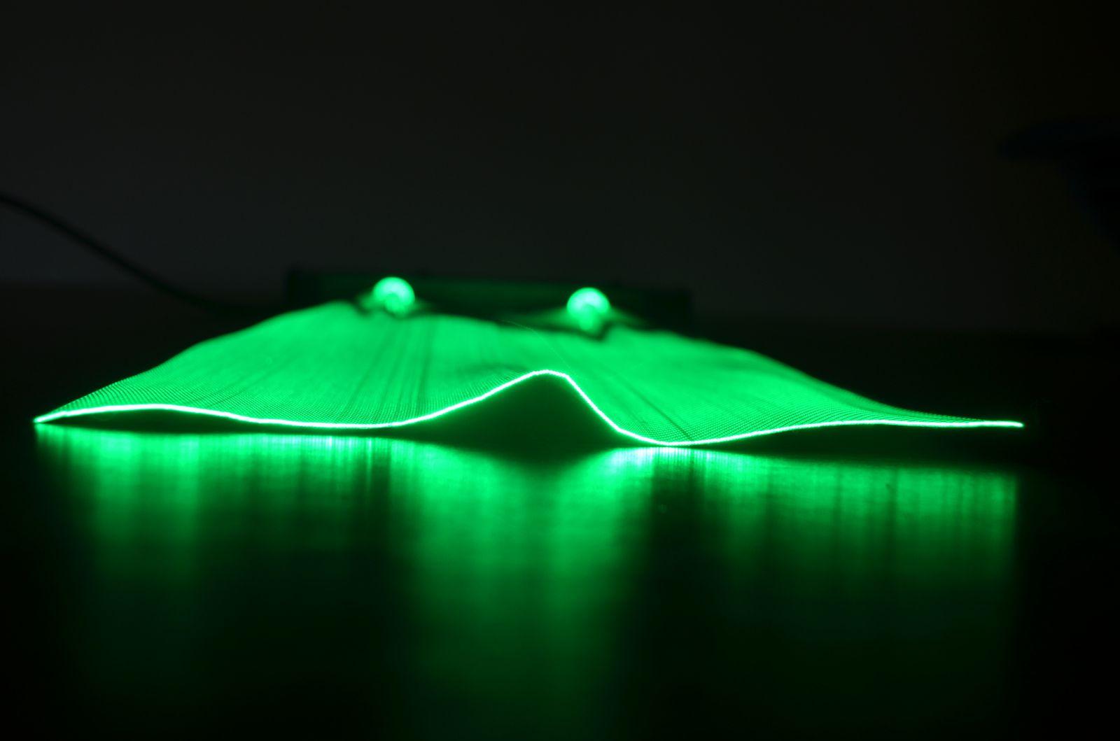 Fiber optic fabric - luminous fabric - illuminated fabric - luminous textile - luminous decor - luminous fabric - luminous panels -