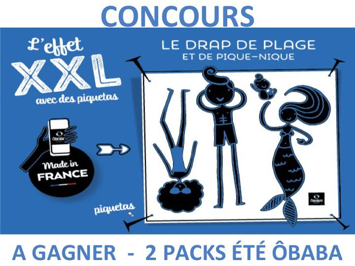 Nouvelle collection #Obaba + Concours