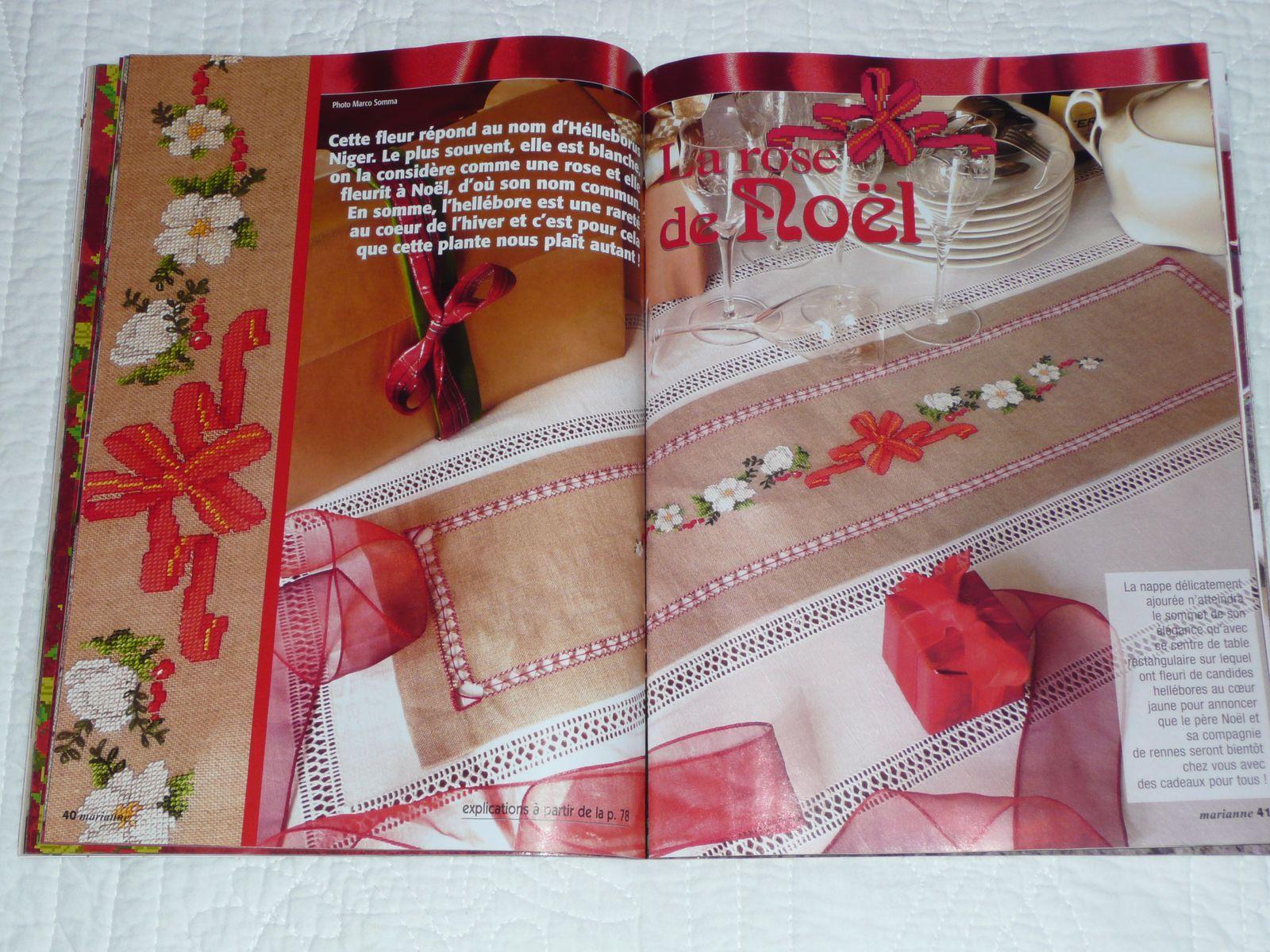 Les idées de Marianne - déc 12 - Rose de Noël