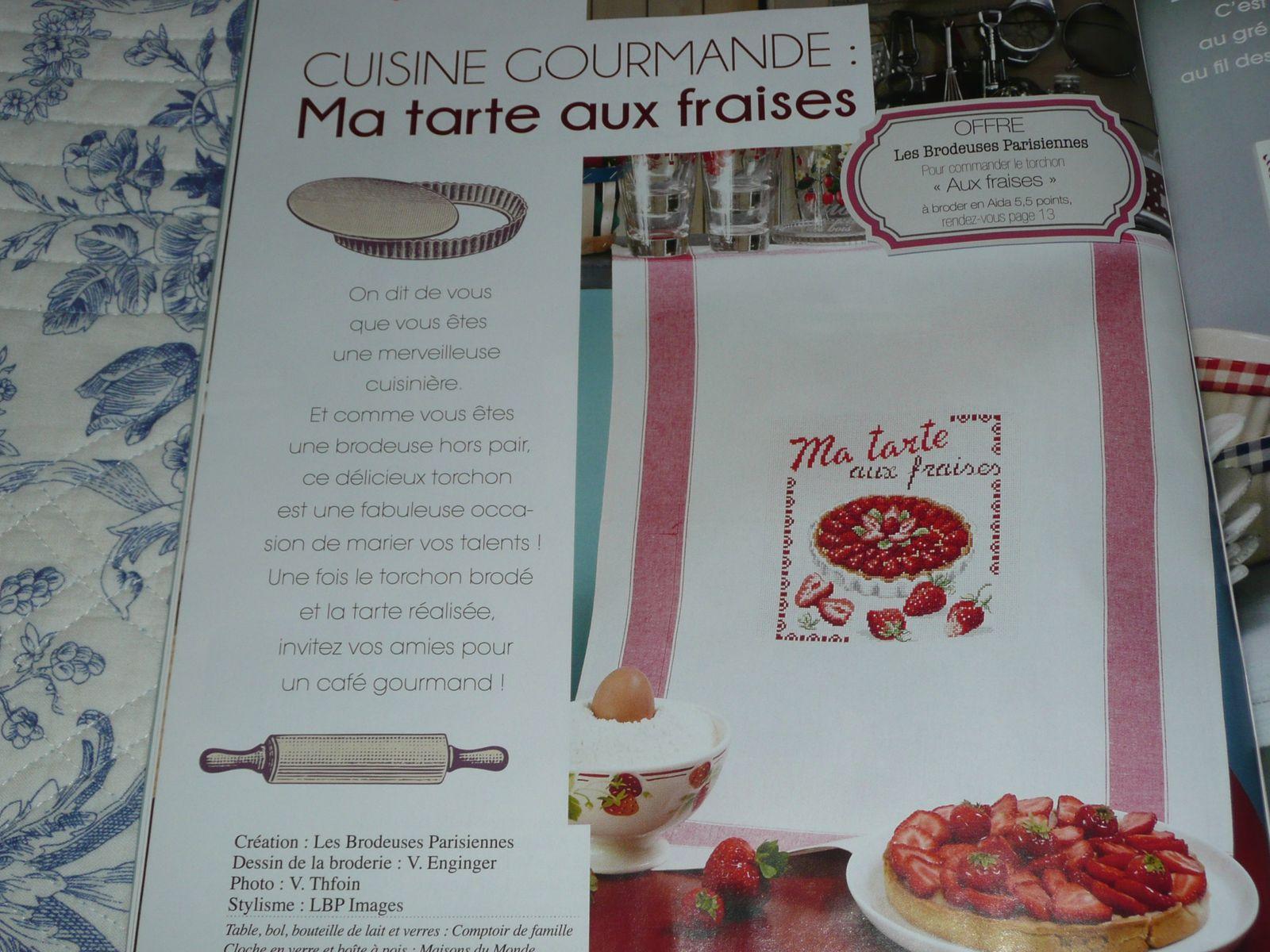 Ma tarte aux fraises (V. ENGINGER)