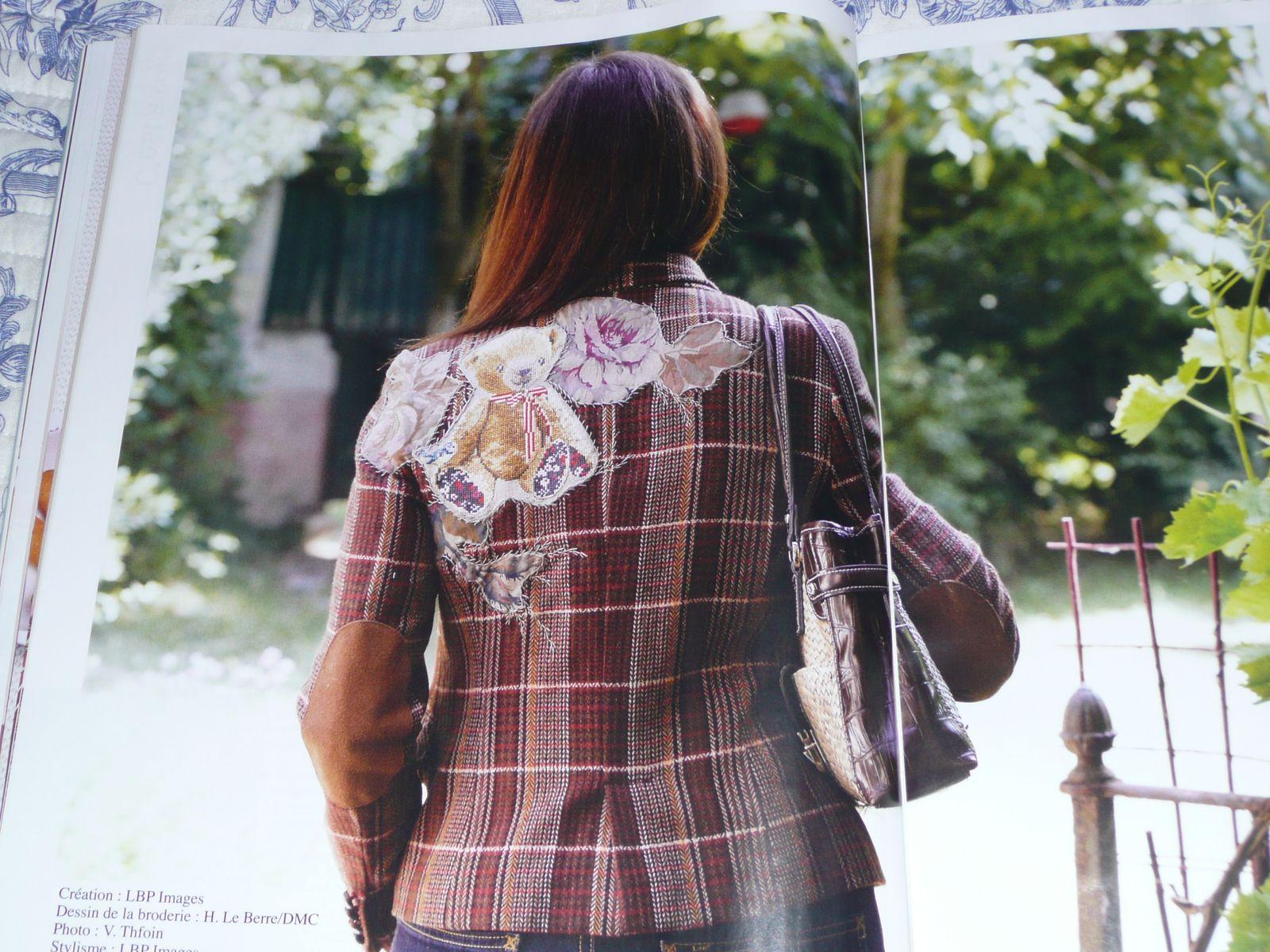 Ma petite veste en tweed (H. LE BERRE et DMC)