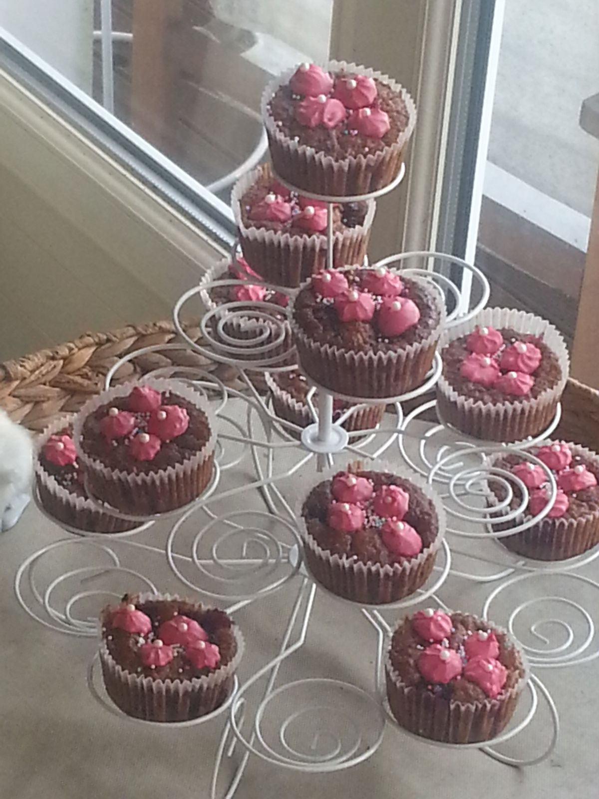 Cup cakes mûre