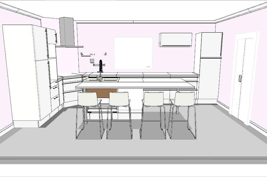 La cuisine for Ikea logiciel 3d