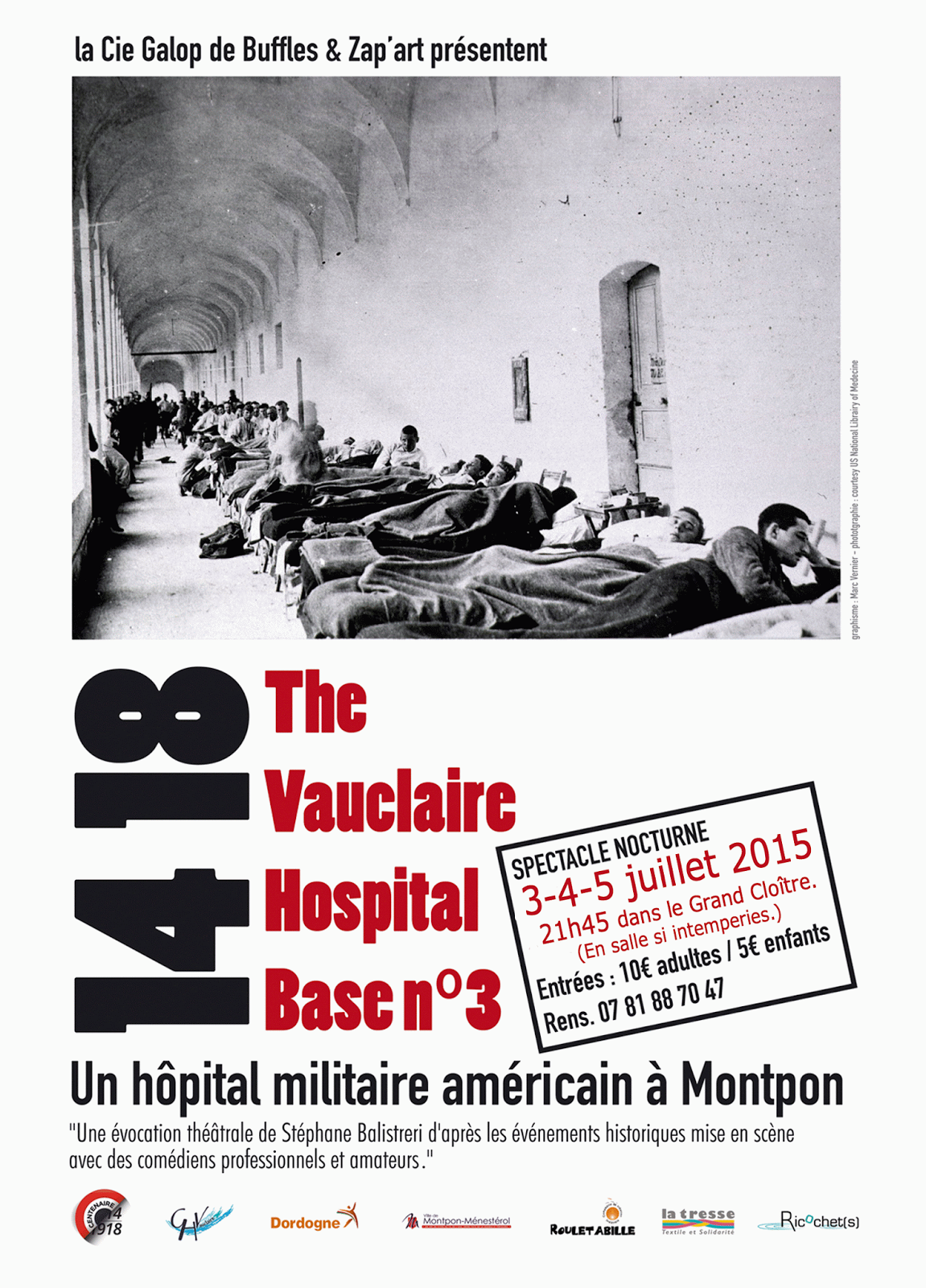 HOPITAUX MILITAIRES JUILLET 2015 - PROGRAMME ANGLO-AMERICAIN...