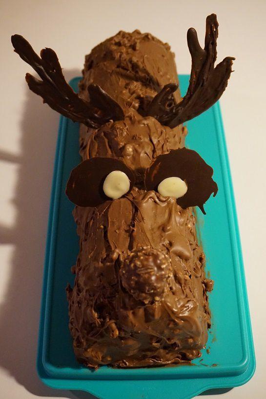 Bûche Rudolph aux Ferrero