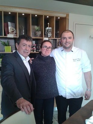 Chef Christian Constant et Chef Christophe Marque