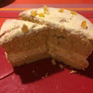 Naked cake aux agrumes