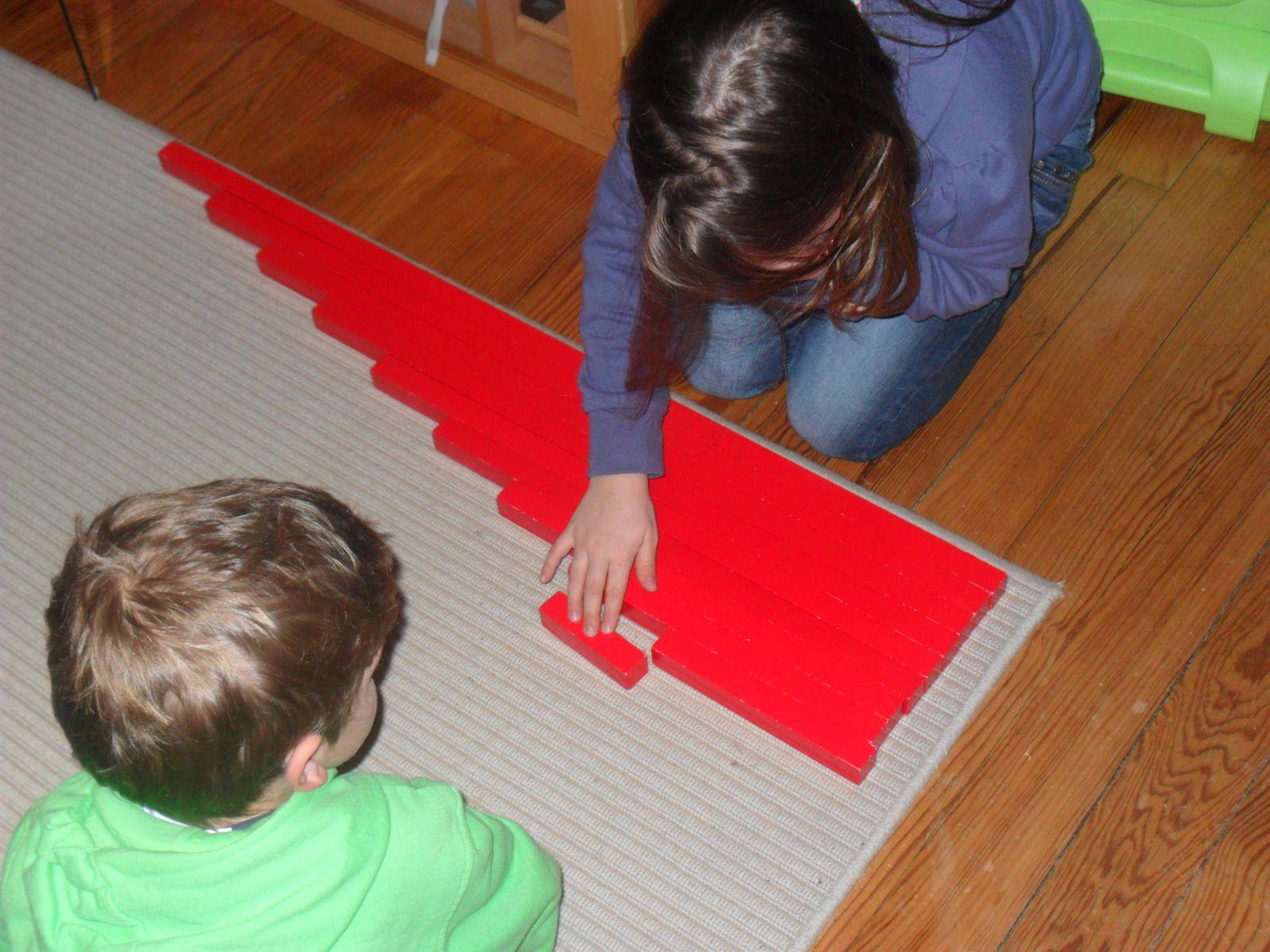 Clara et les barres rouges