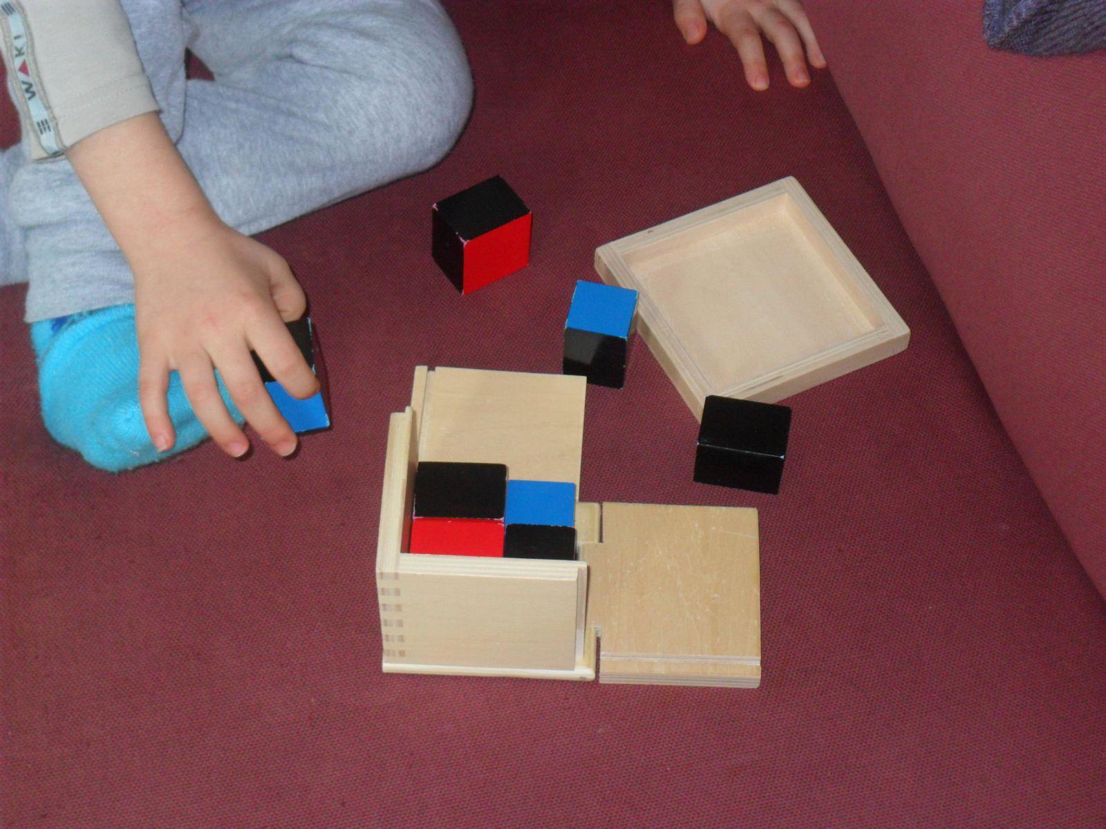 Timéo et le cube de binôme