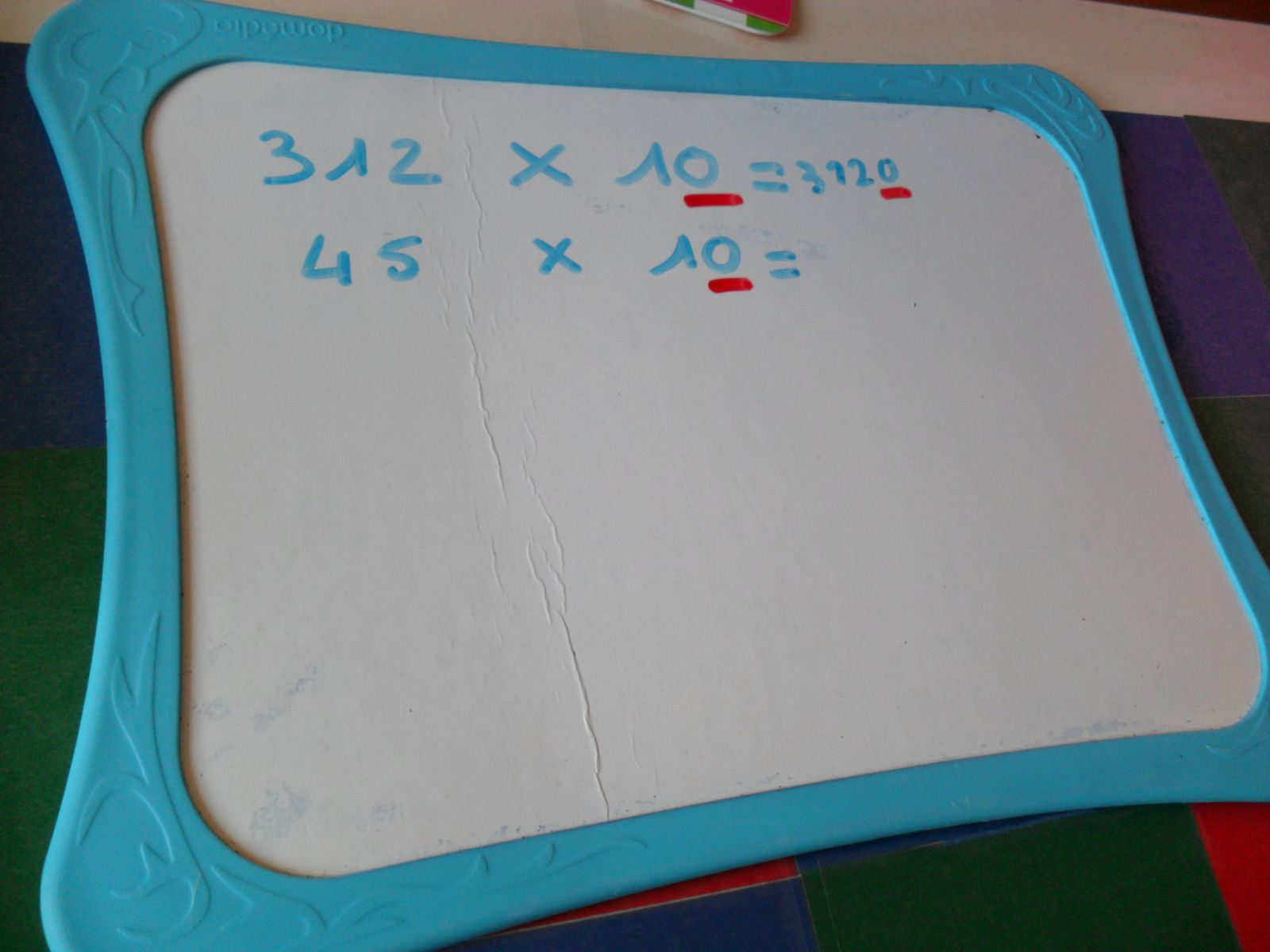 Multiplication par 10, 100, 1000