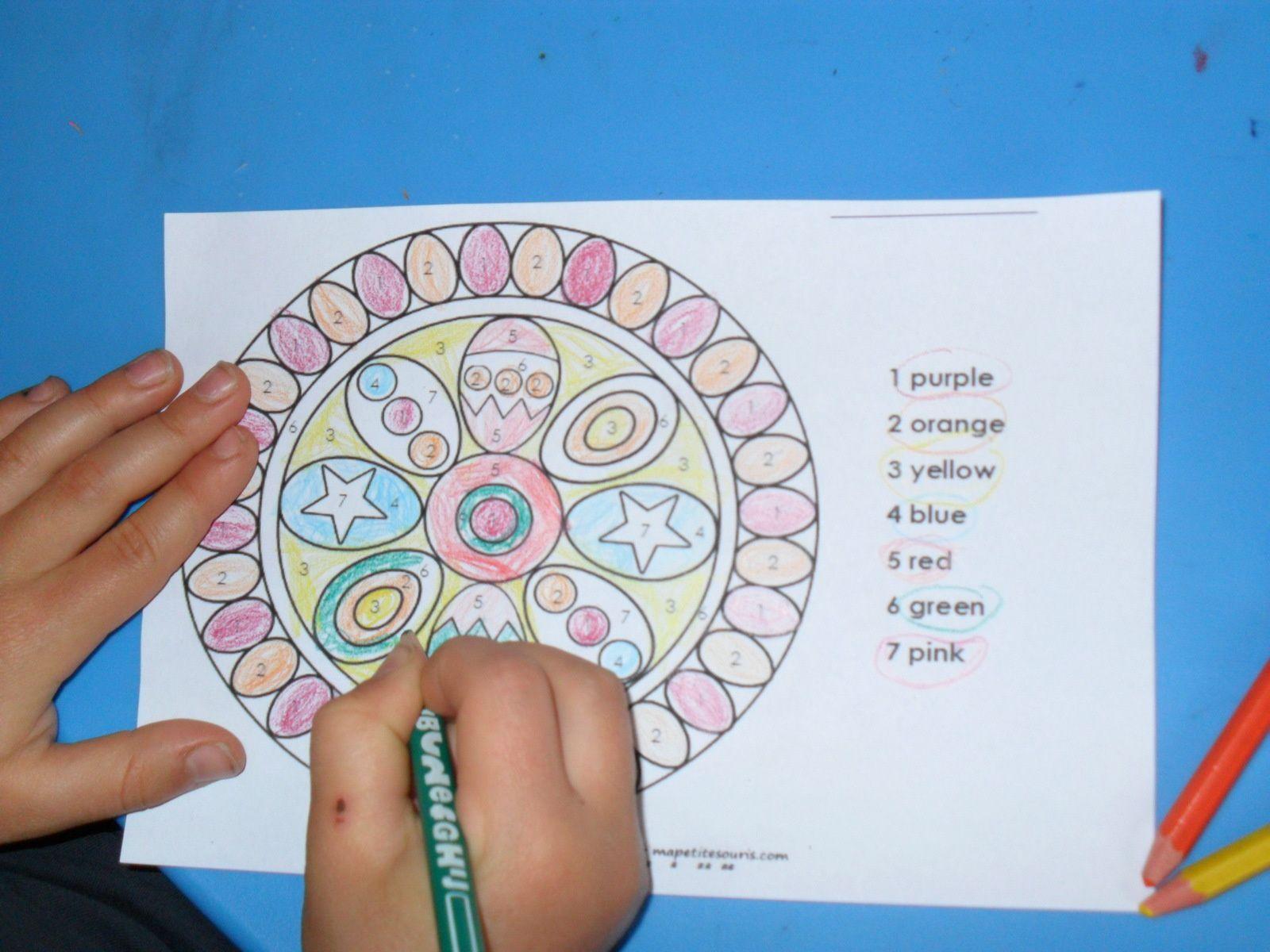 Coloriage De Paques Cycle 3.Happy Easter Les Ateliers De Cathy