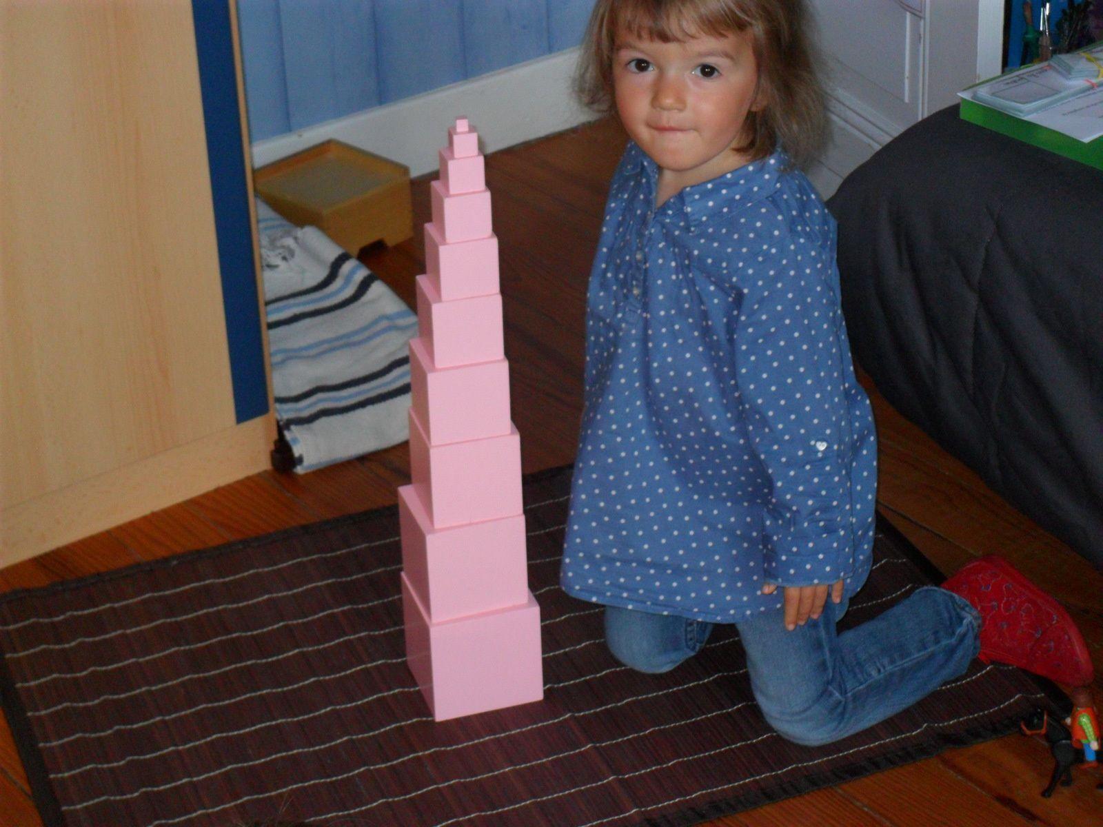 La tour rose.