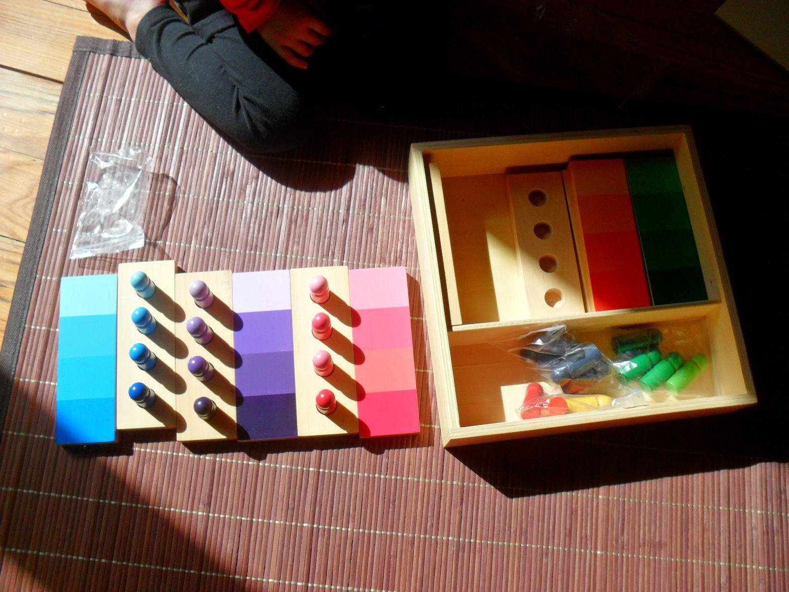 Boîte des dégradés de couleurs.