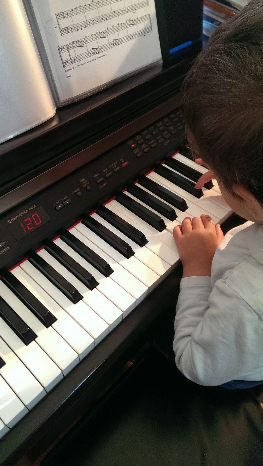 Z. adore la musique.