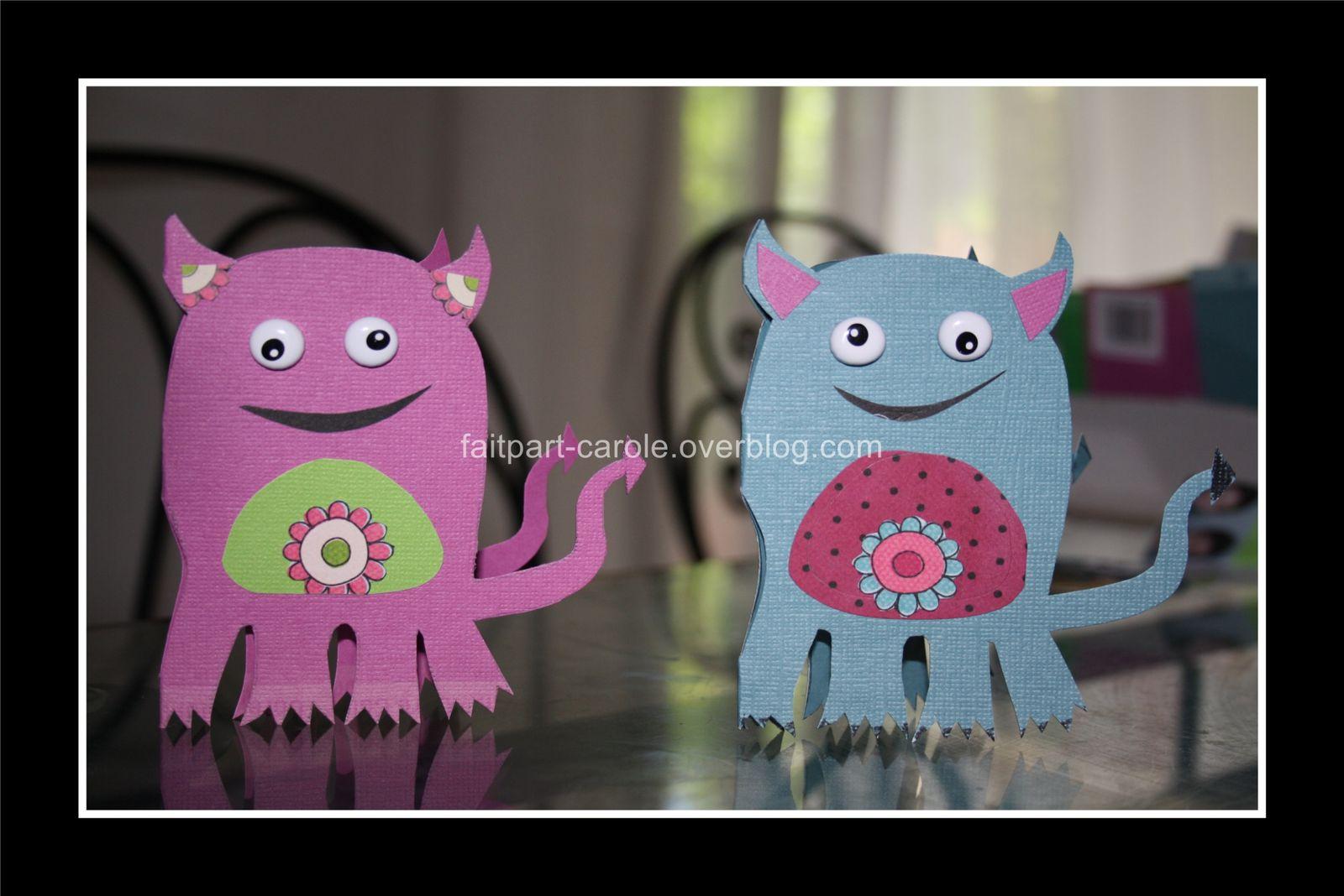 série petits monstres