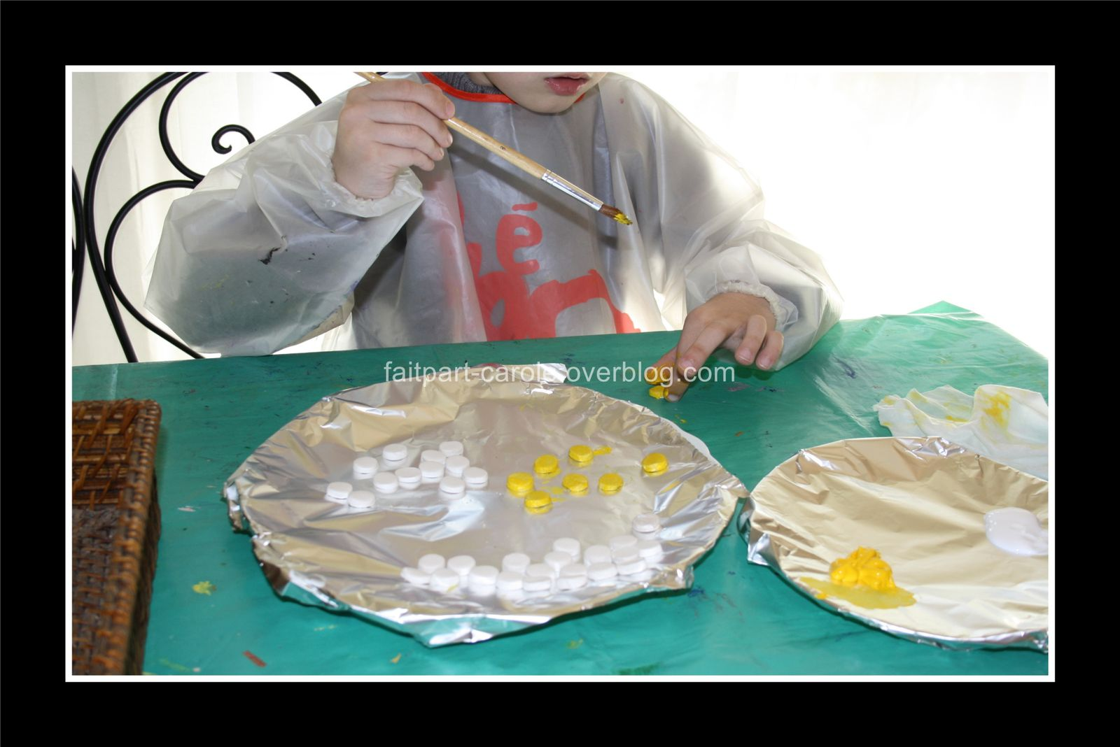 sans oublier les pions fait maison en pâte à modeler autodurcissante