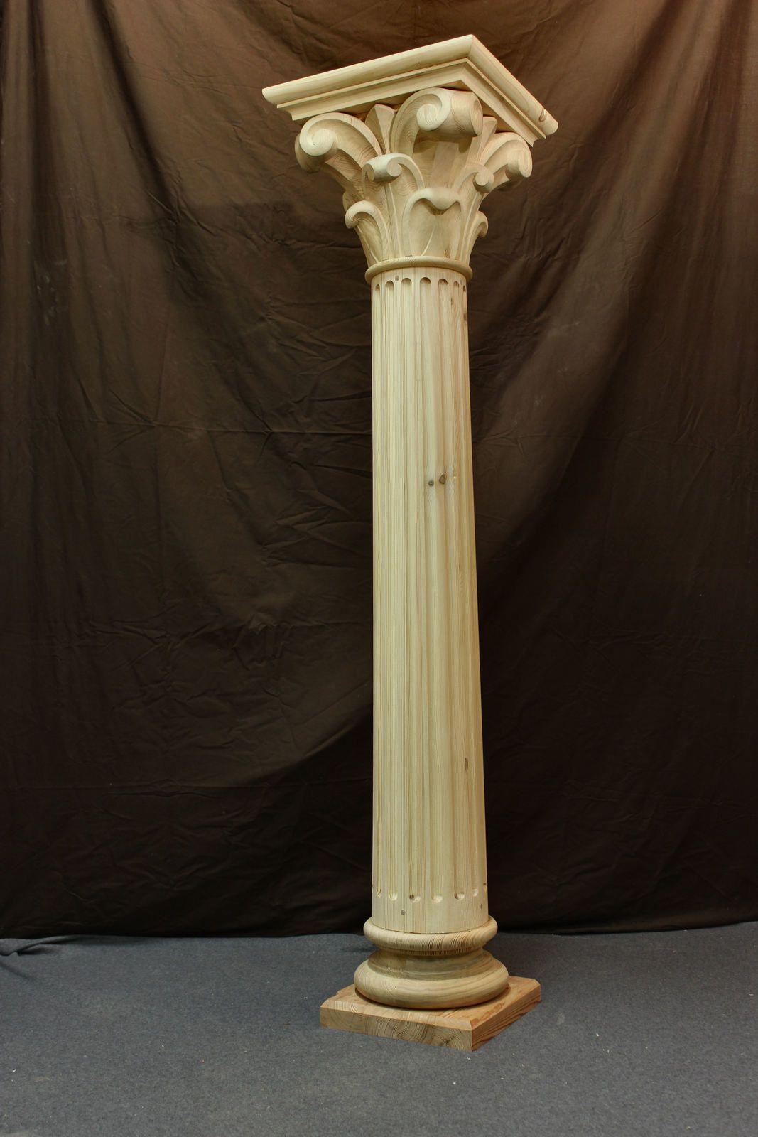 Les colonne ont été réalisées par le facteur d'orgue selon la méthode de Roubo (l'art du menuisier)