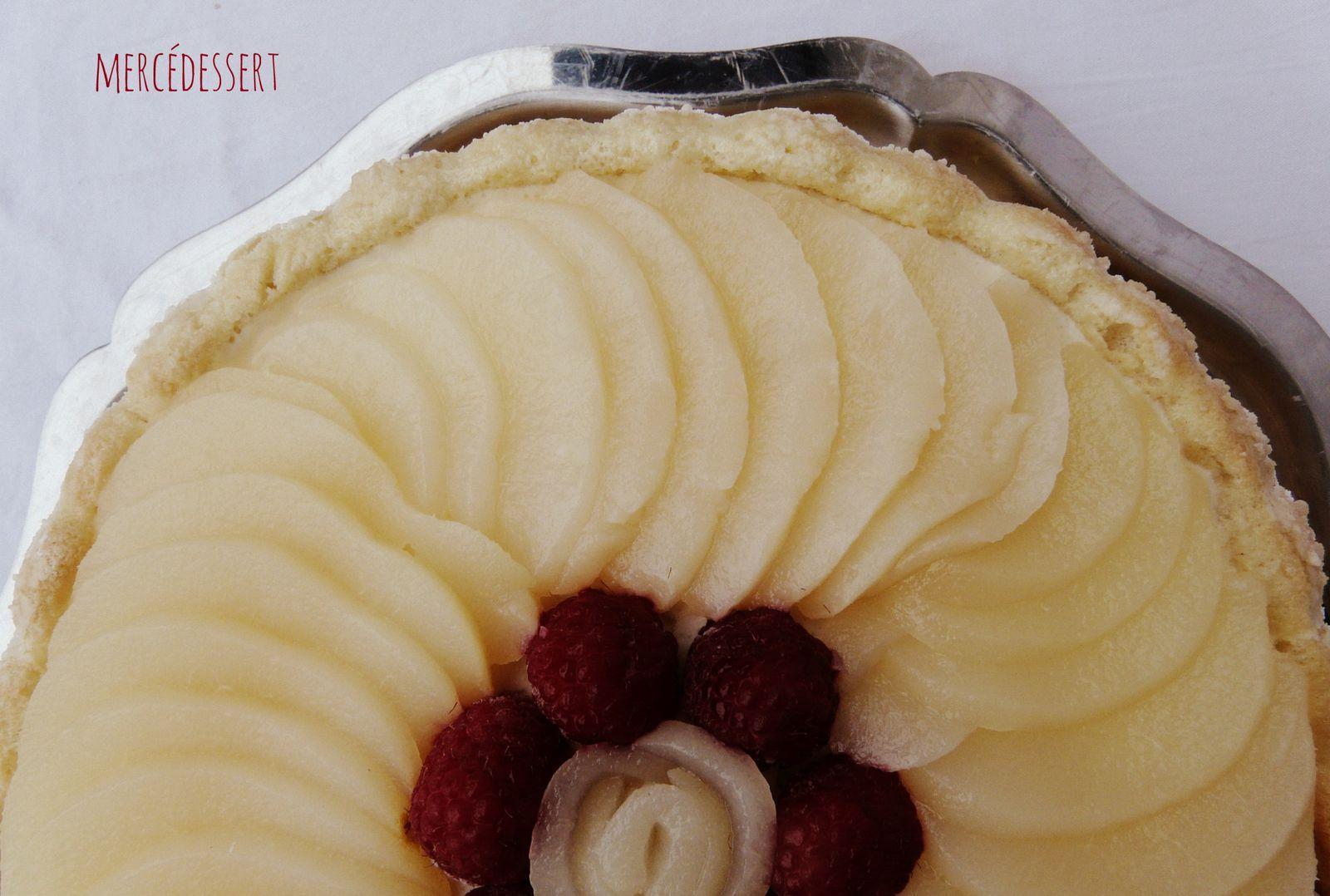 Charlotte aux poires - CAP Pâtissier