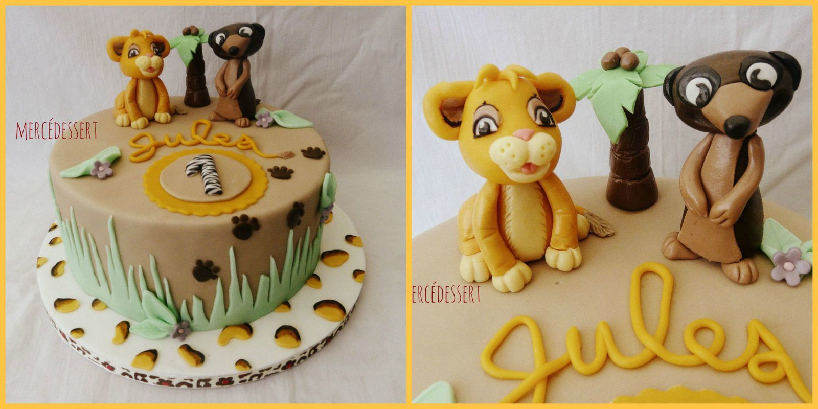 Cake Design Lyon : Wedding cake - mes creations - Mercedessert