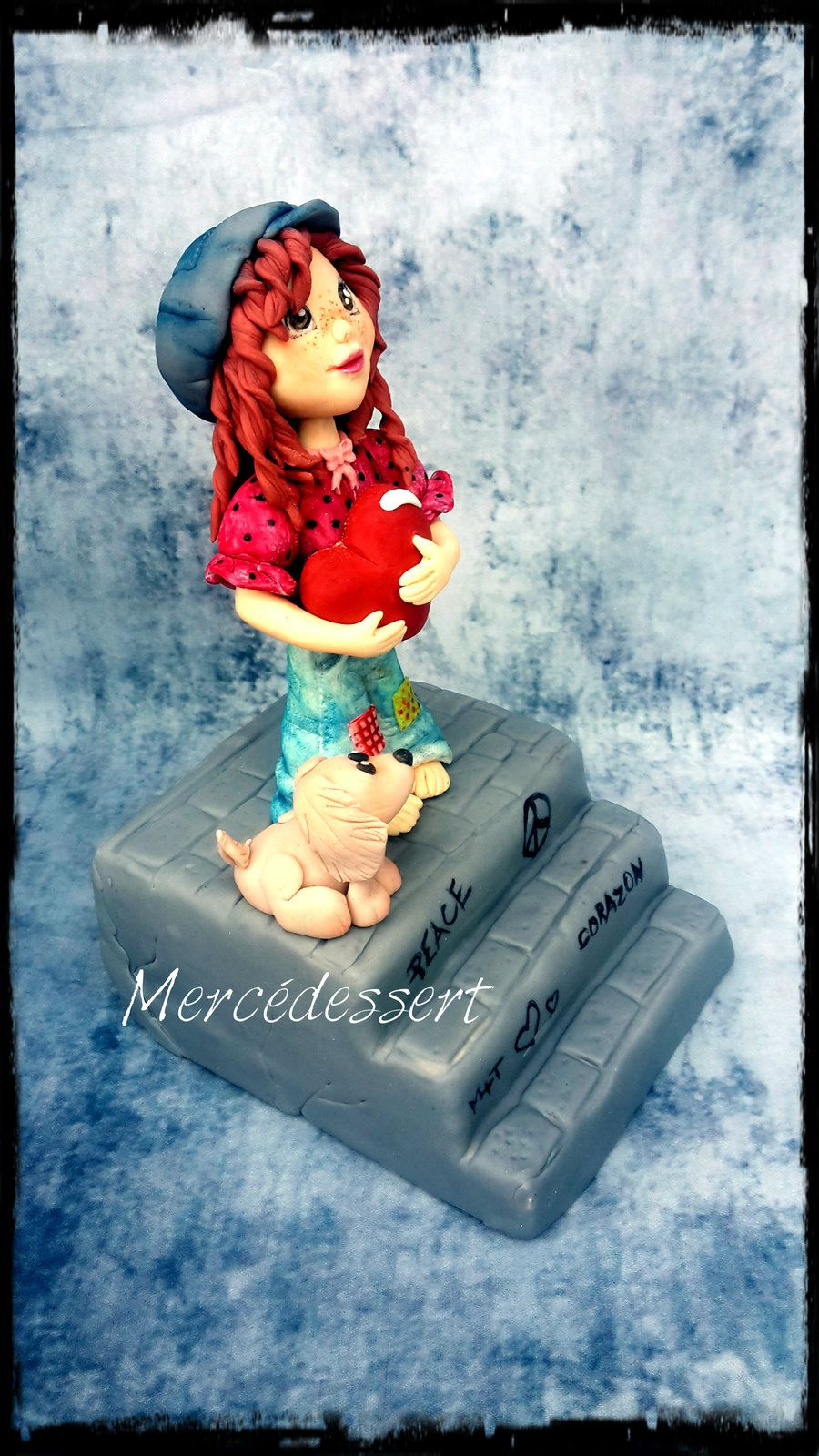 Figurine Sarah Key (environ 13 cm)