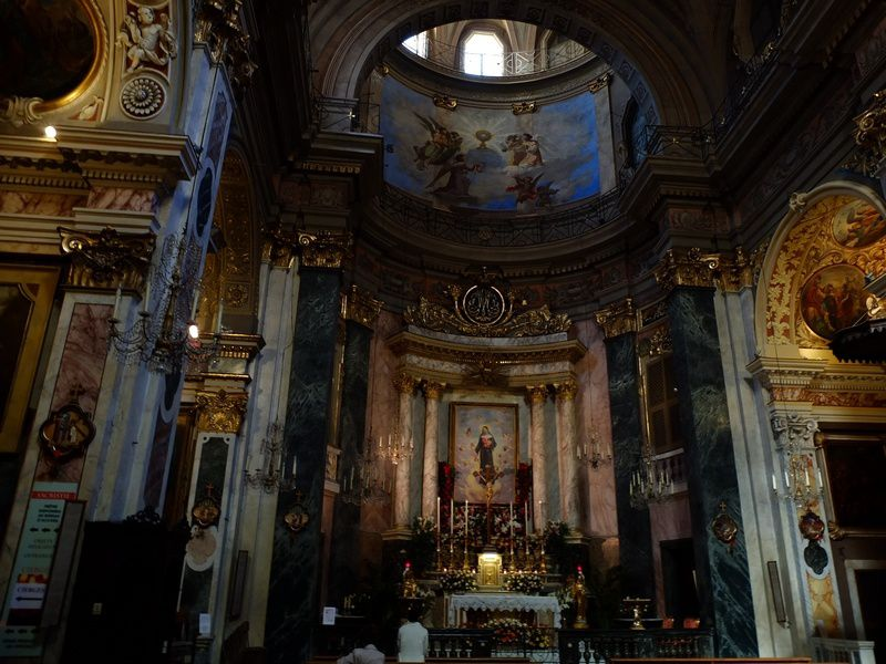 Église de l'Annonciation, dédiée à sainte Rita, la patronne des causes perdues